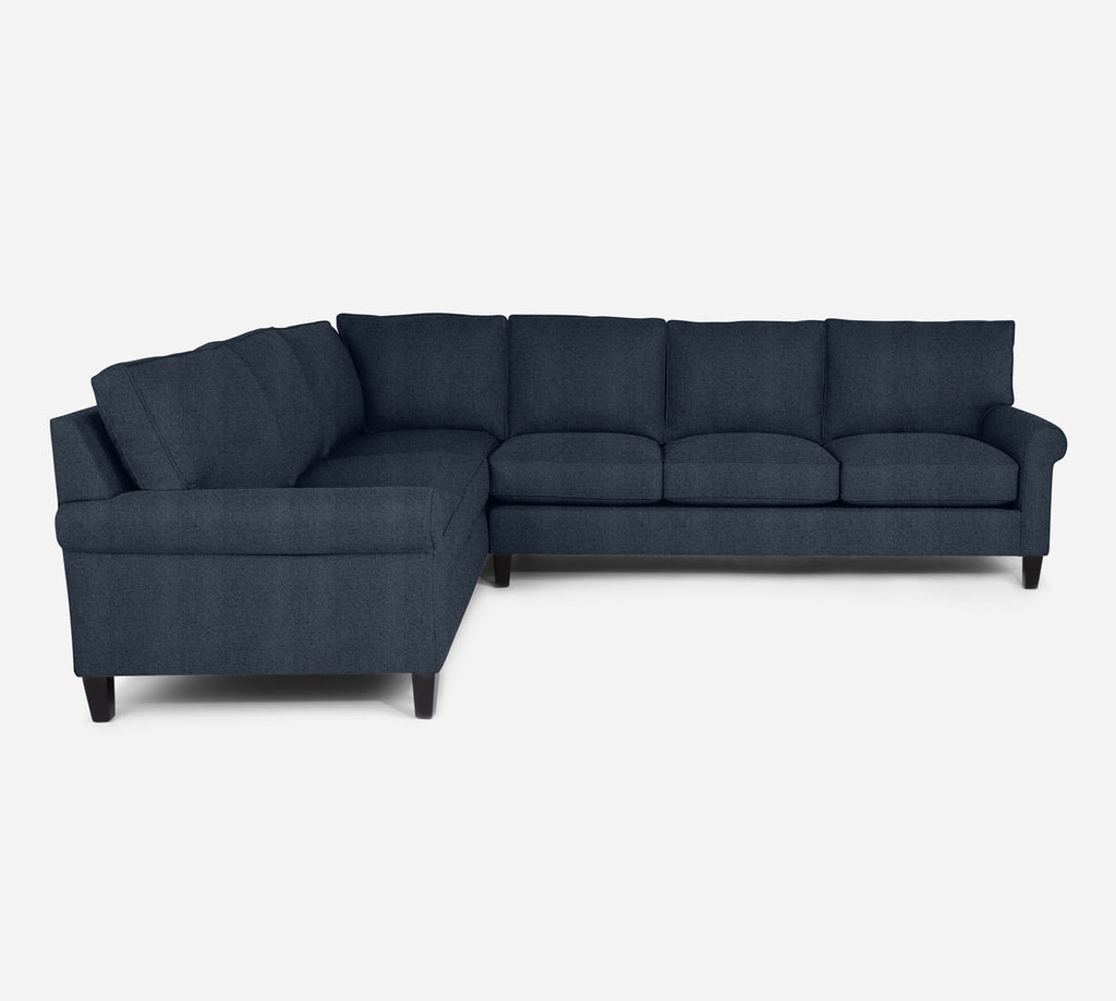 Soren RAF Large Corner Sectional - Theron - Baltic