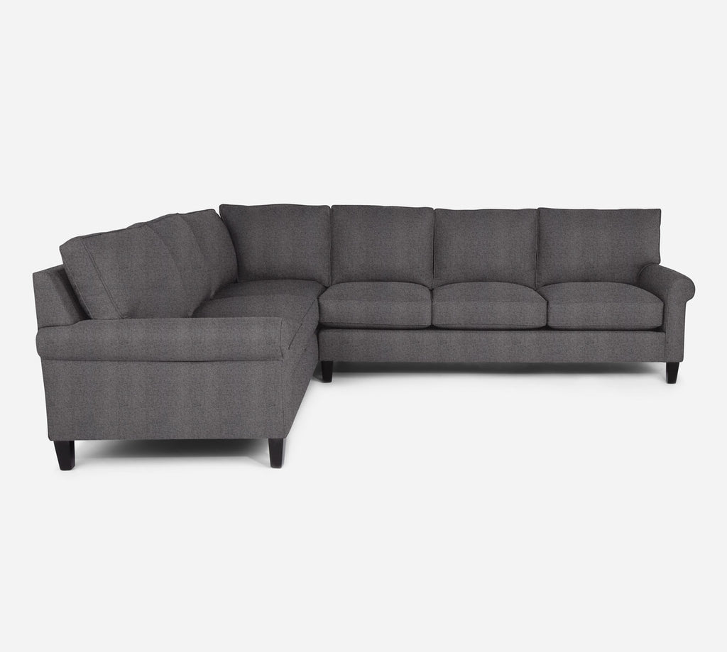 Soren RAF Large Corner Sectional - Theron - Concrete