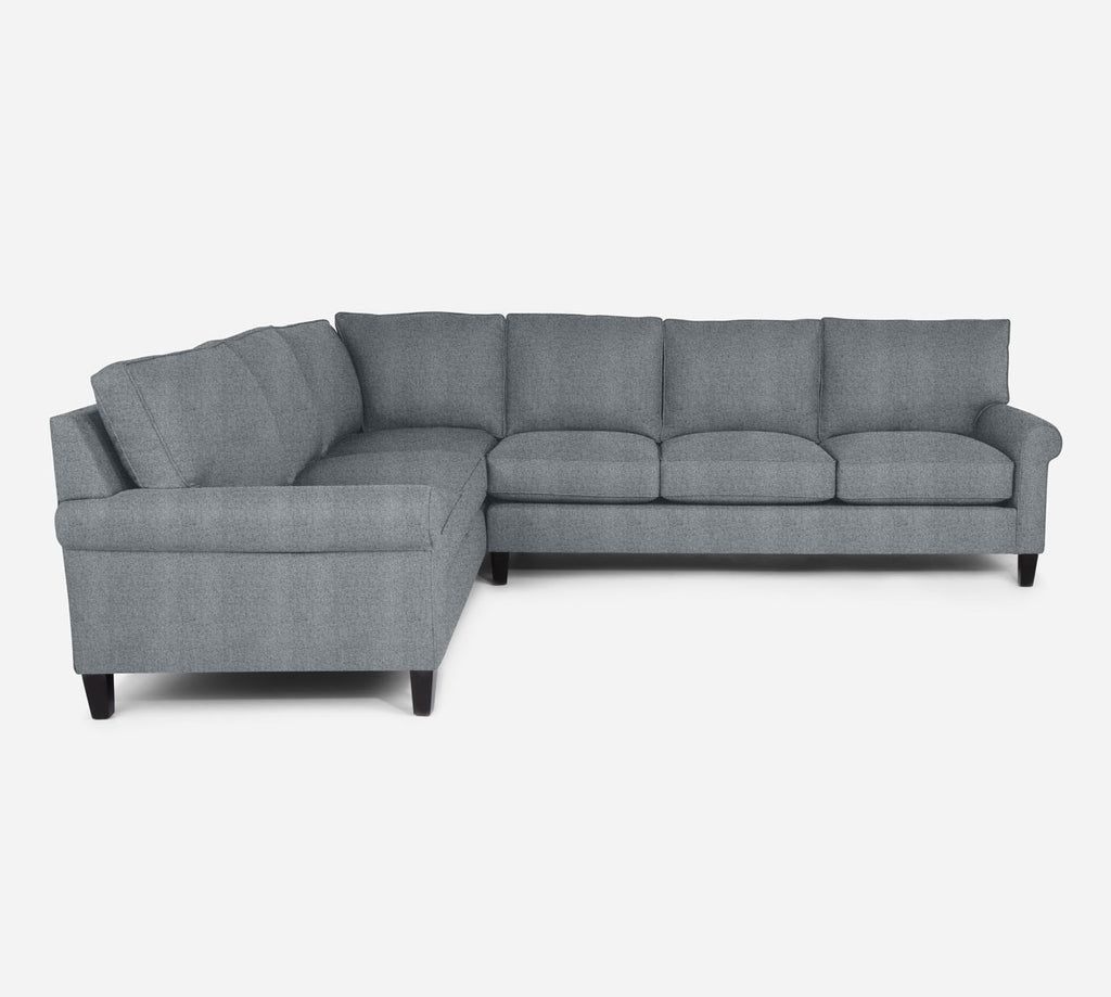 Soren RAF Large Corner Sectional - Theron - Haze