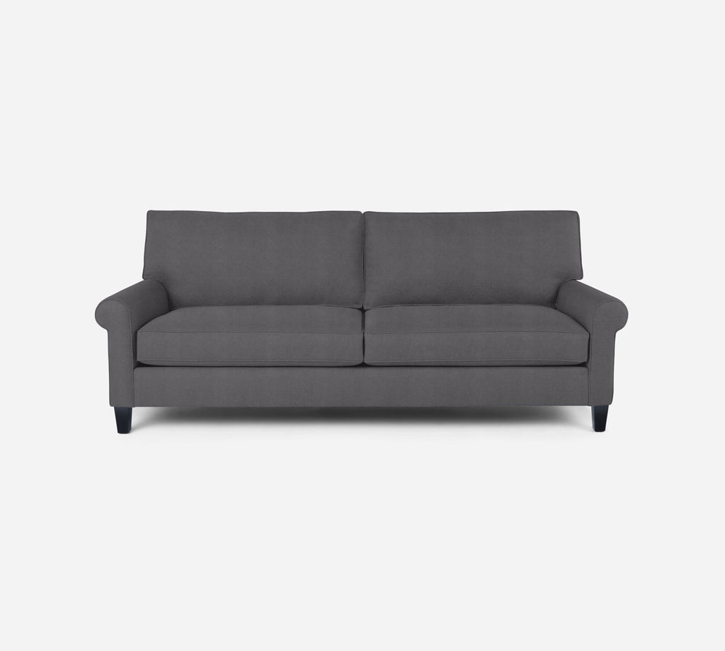 Soren 2 Seat Sofa - Passion Suede - Charcoal