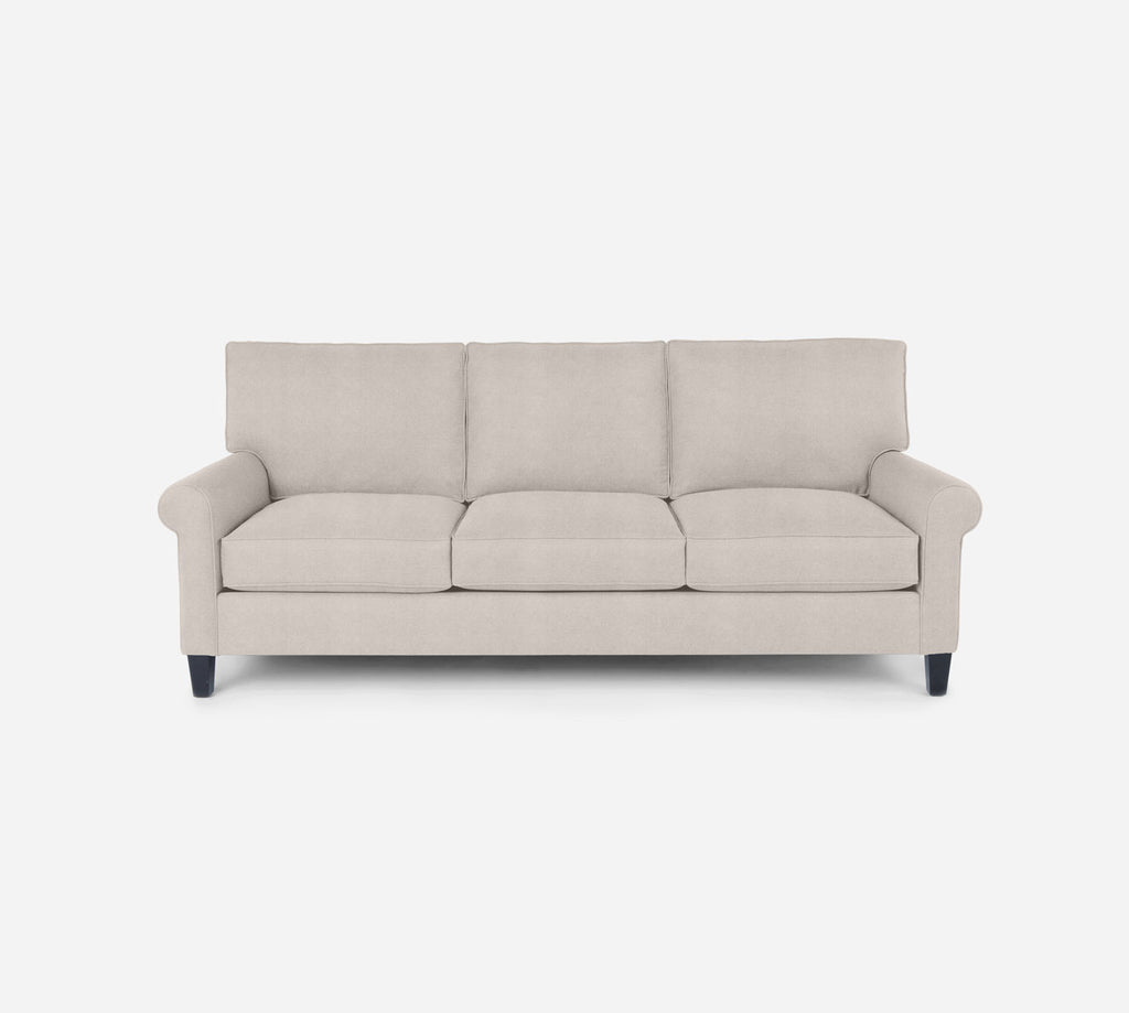 Soren 3 Seat Sofa - Passion Suede - Oyster