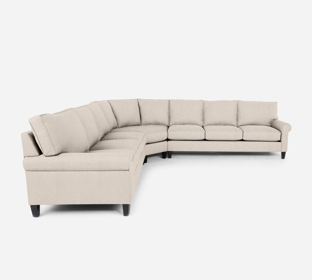 Soren Large Wedge Sectional - Kenley - Canvas