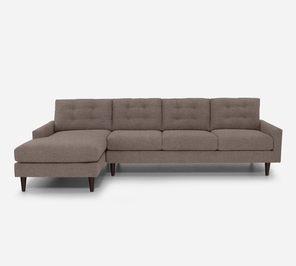Taylor LAF Chaise Sectional - Heritage - Pebble