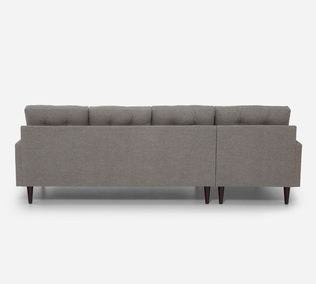 Taylor LAF Chaise Sectional - Stardust - Fossil