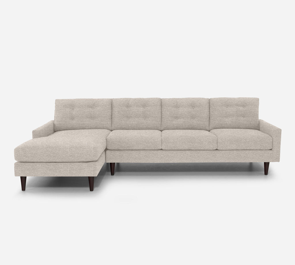 Taylor LAF Chaise Sectional - Stardust - Oatmeal