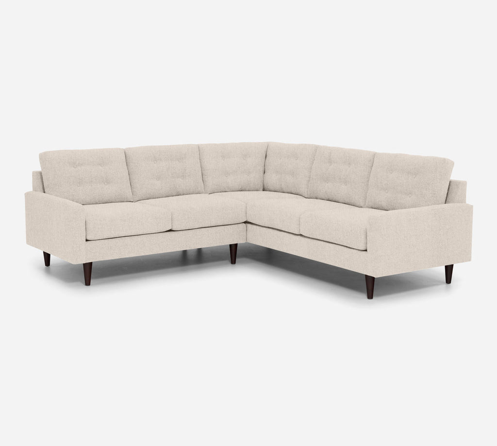 Taylor LAF Corner Sectional - Kenley - Canvas