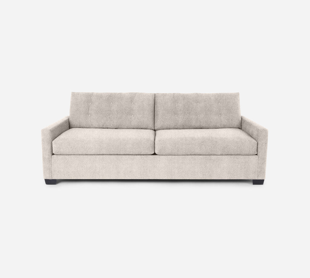 Taylor 2 Seat Sleeper Sofa - Passion Suede - Oyster
