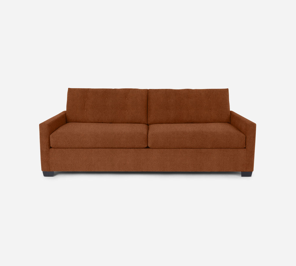 Taylor 2 Seat Sleeper Sofa - Passion Suede - Rust