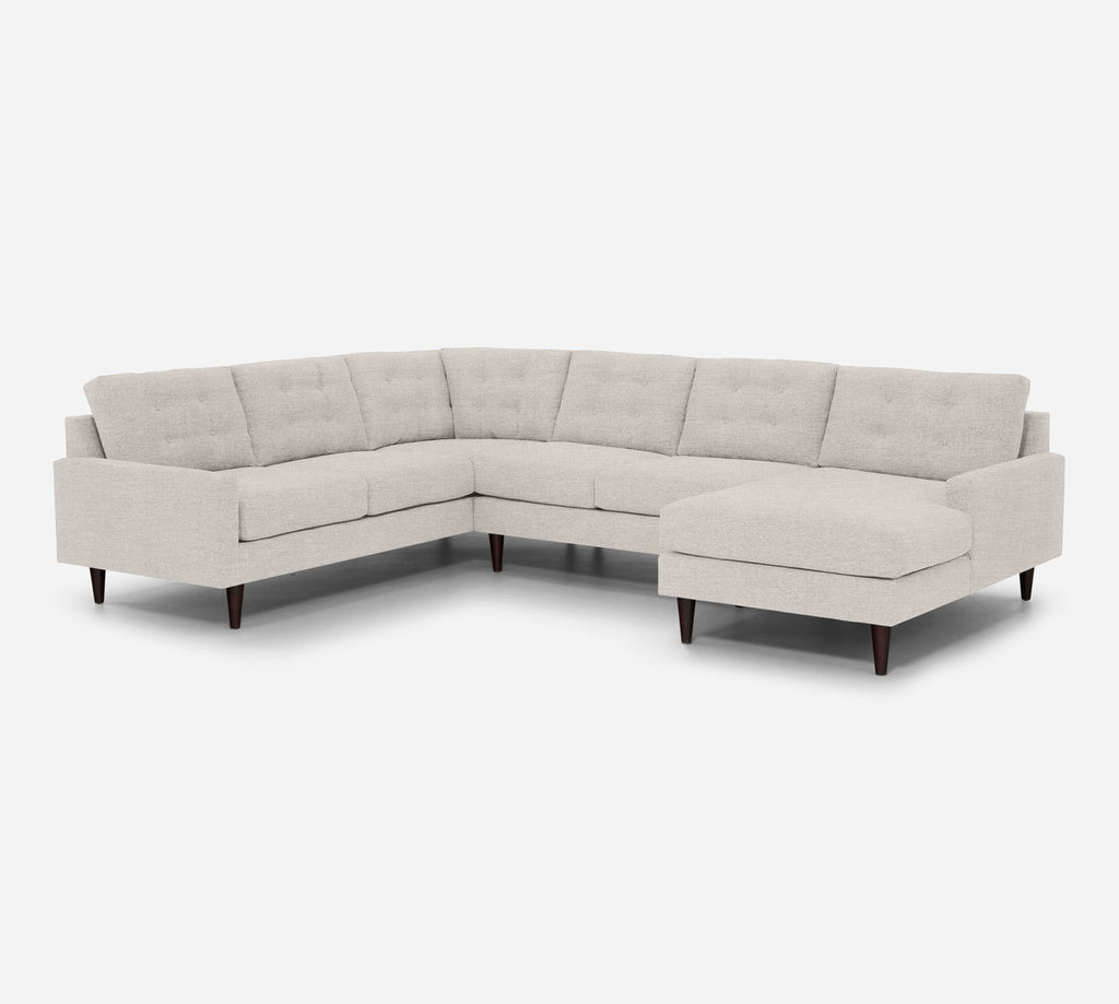 Taylor RAF Chaise Corner Sectional - Key Largo - Oatmel