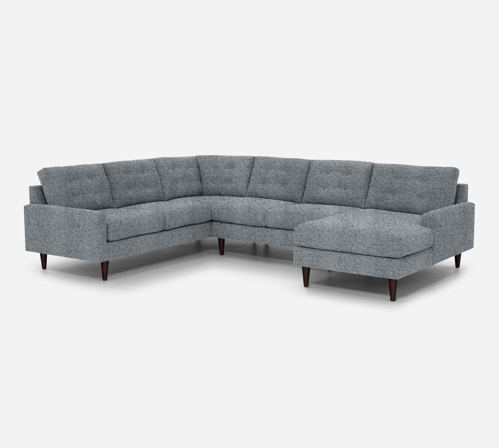 Taylor RAF Chaise Corner Sectional - Theron - Haze