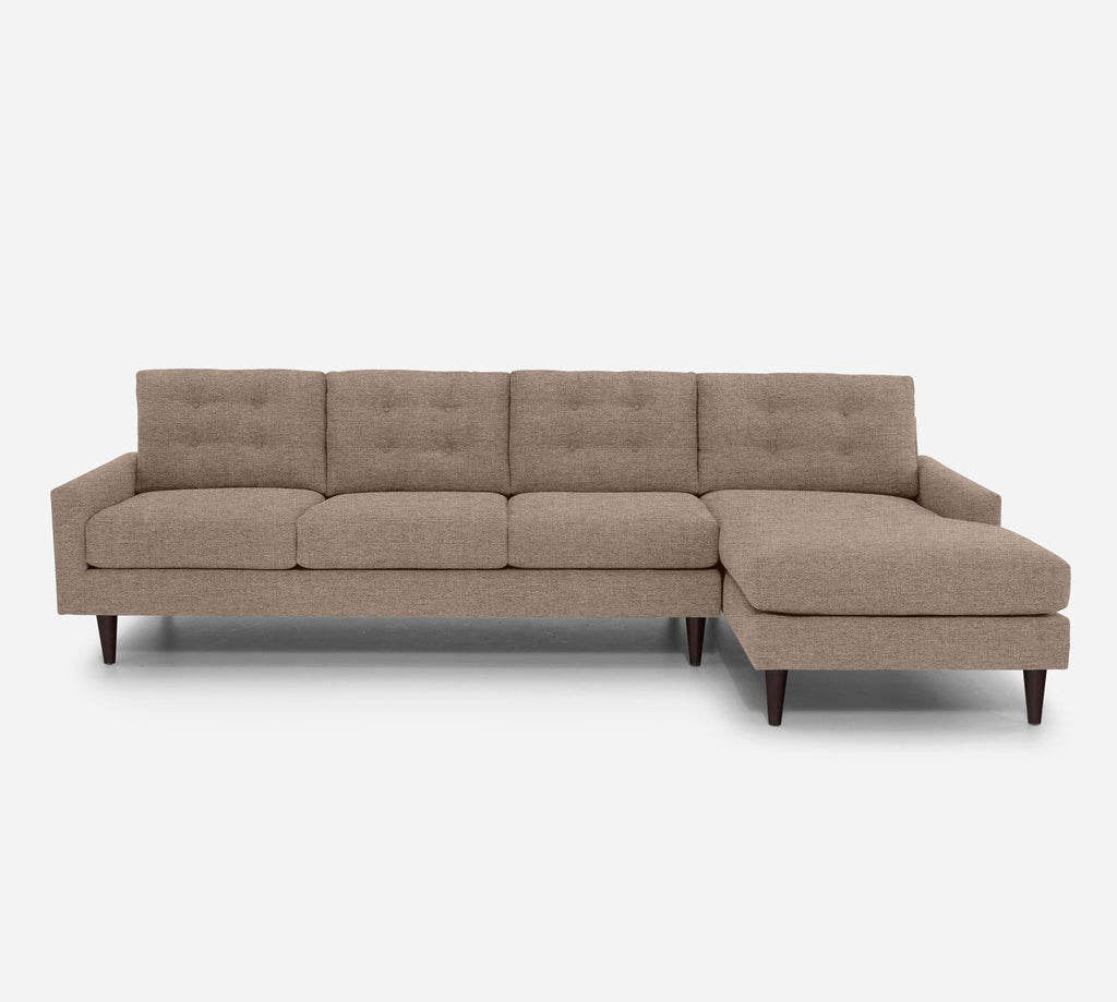 Taylor RAF Chaise Sectional - Coastal - Cashew