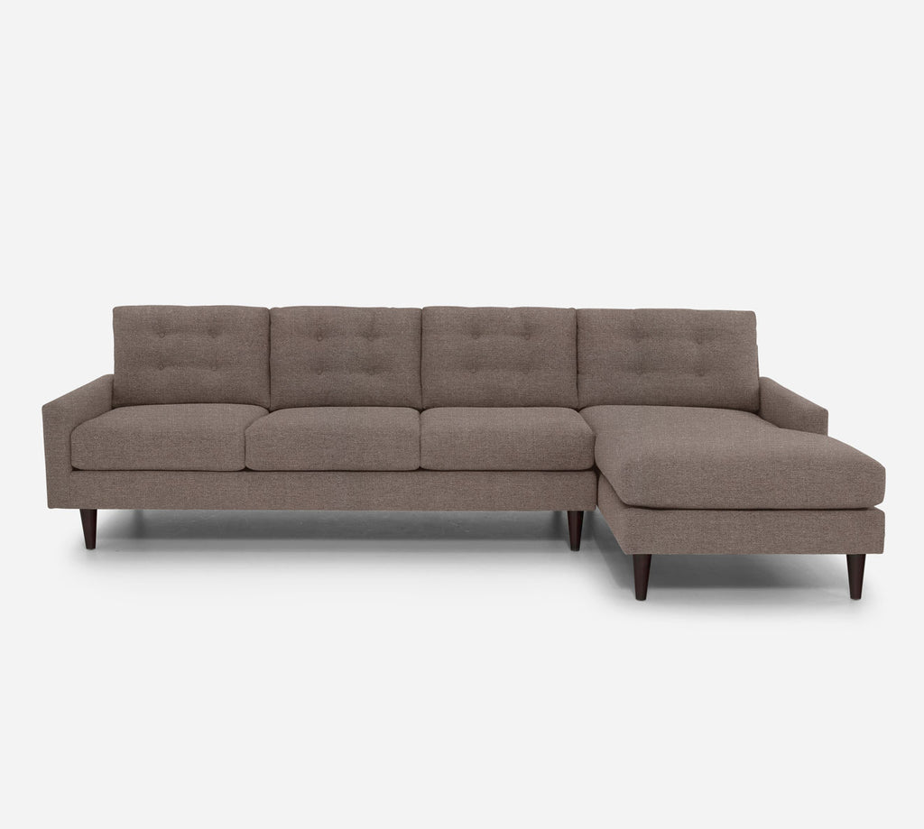 Taylor RAF Chaise Sectional - Heritage - Pebble