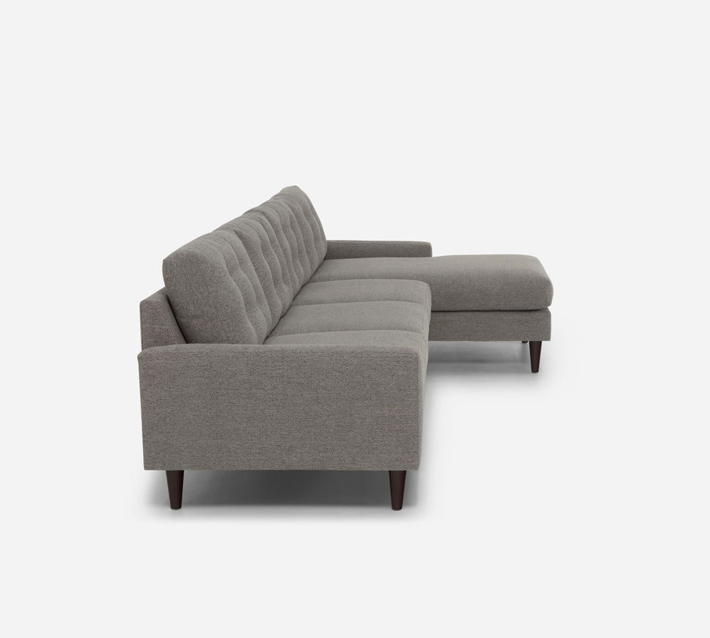 Taylor RAF Chaise Sectional - Stardust - Fossil