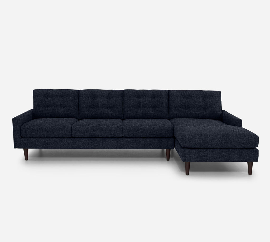 Taylor RAF Chaise Sectional - Stardust - Midnight