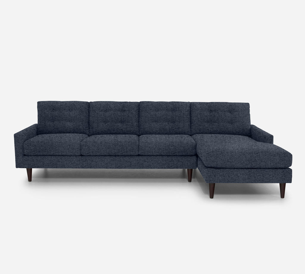 Taylor RAF Chaise Sectional - Theron - Baltic