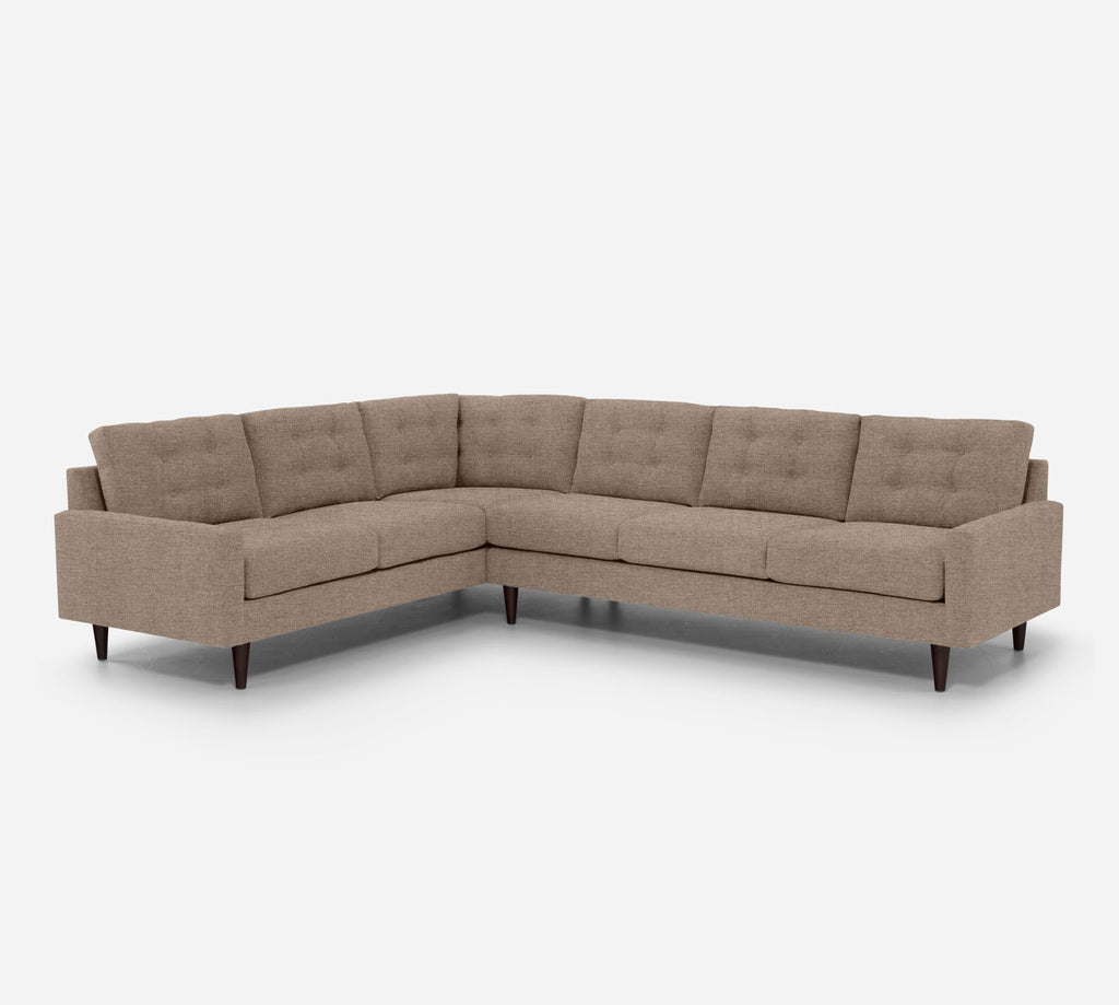 Taylor RAF Large Corner Sectional - Coastal - Cashew