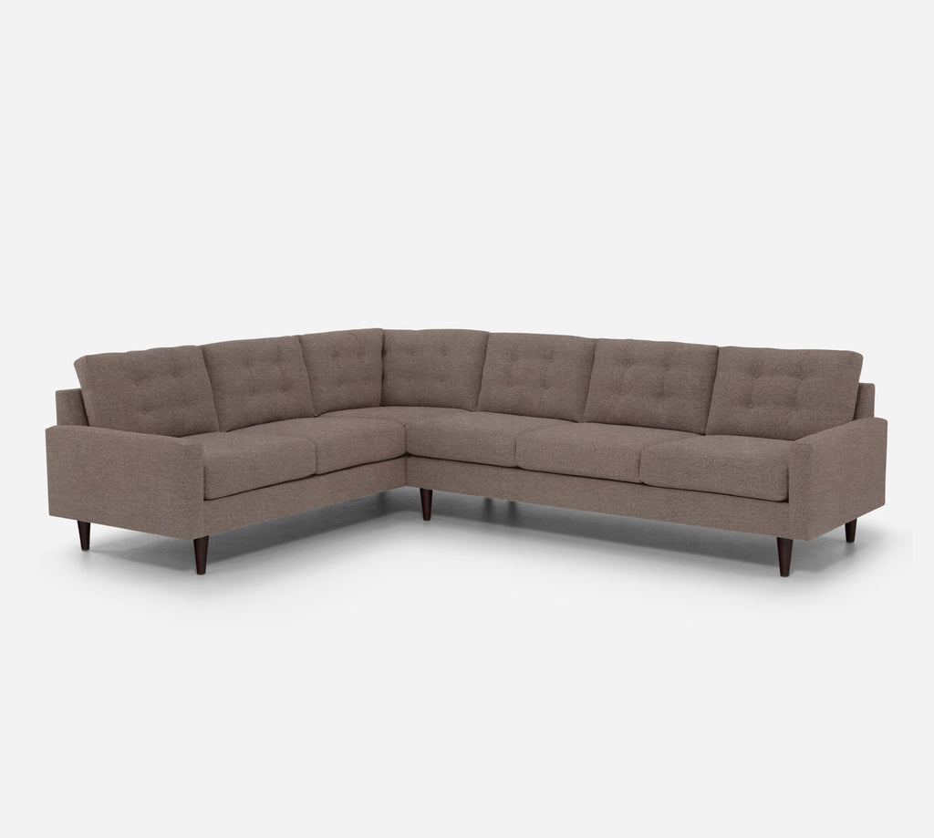 Taylor RAF Large Corner Sectional - Heritage - Pebble