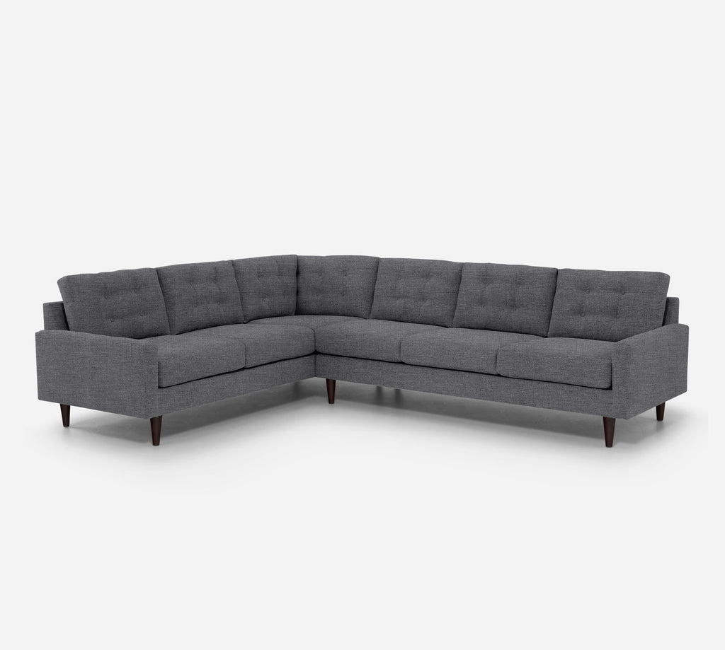 Taylor RAF Large Corner Sectional - Key Largo - Ash