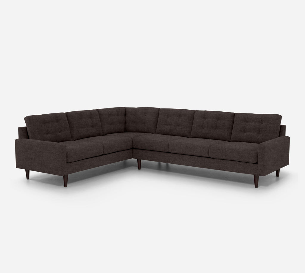 Taylor RAF Large Corner Sectional - Key Largo - Mocha