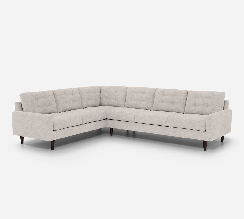 Taylor RAF Large Corner Sectional - Key Largo - Oatmel