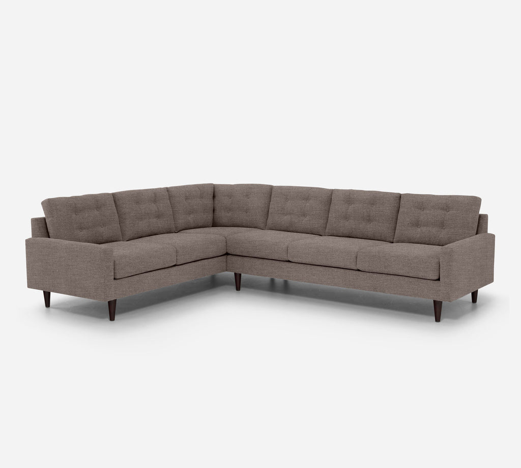 Taylor RAF Large Corner Sectional - Key Largo - Pumice
