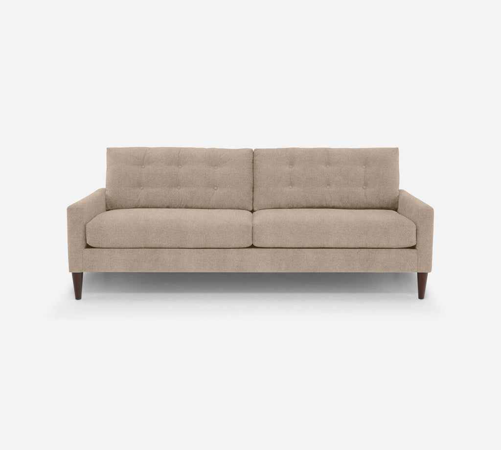 Taylor 2 Seat Sofa - Passion Suede - Camel