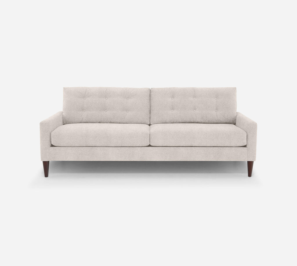 Taylor 2 Seat Sofa - Passion Suede - Oyster