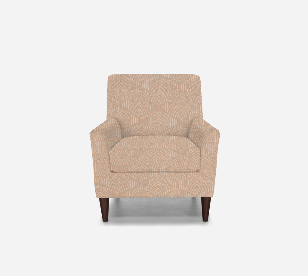 Xander Accent Chair - Cathedral - BLUSH