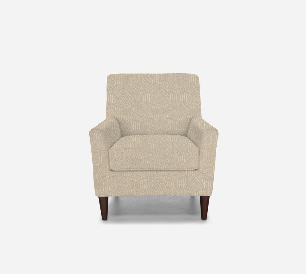 Xander Accent Chair - Cathedral - LINEN