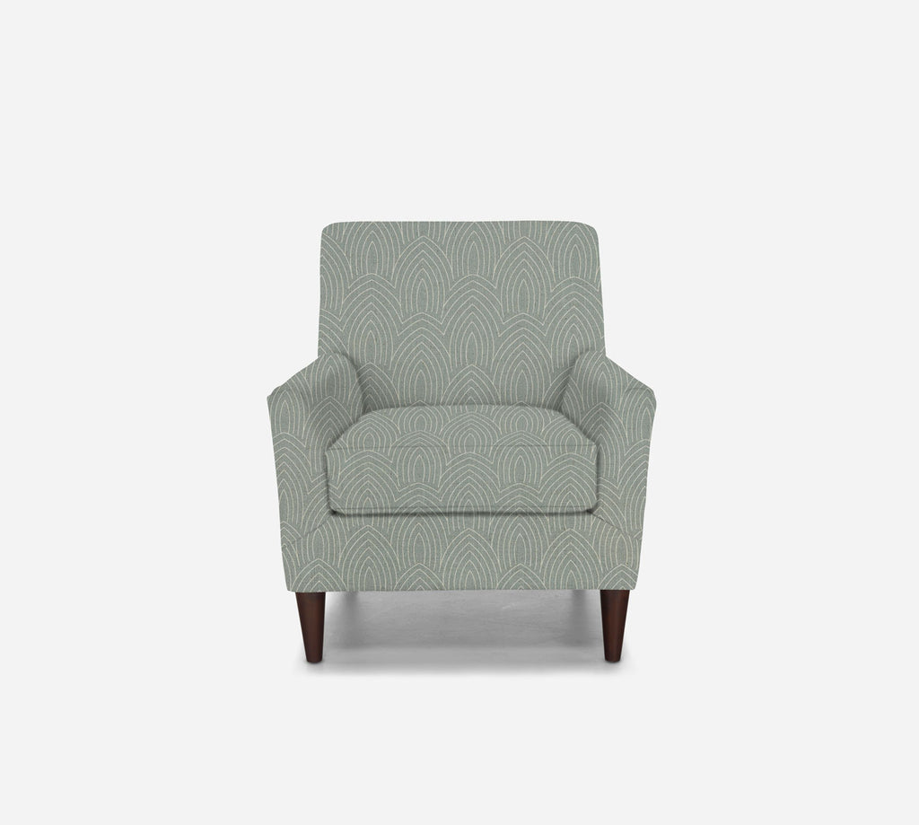 Xander Accent Chair - Cathedral - SKY