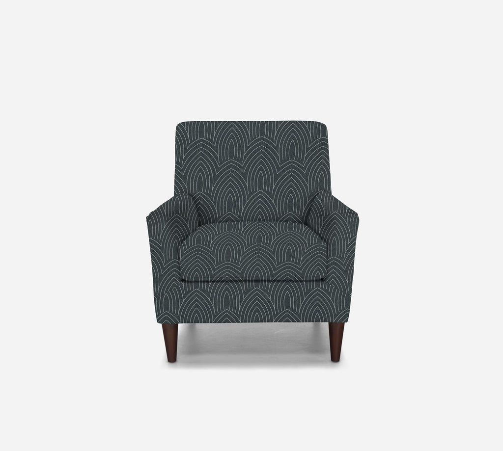 Xander Accent Chair - Cathedral - SLATE