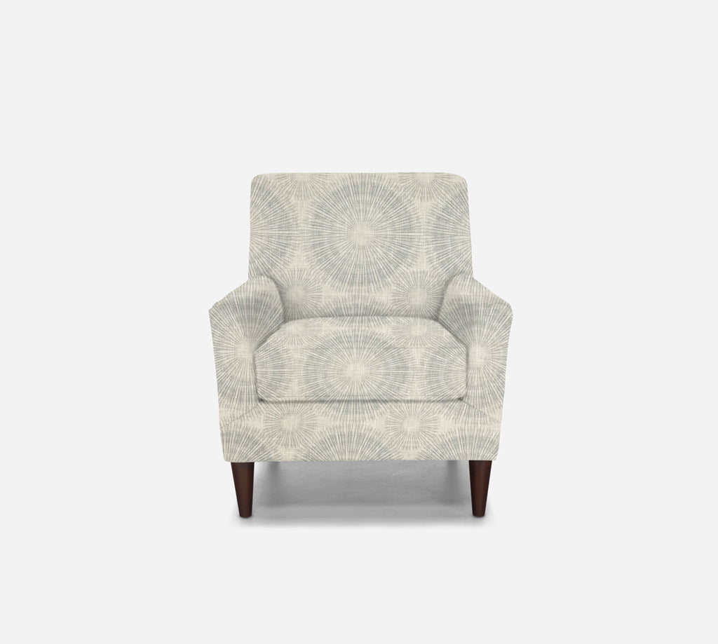Xander Accent Chair - Fireworks - ICE