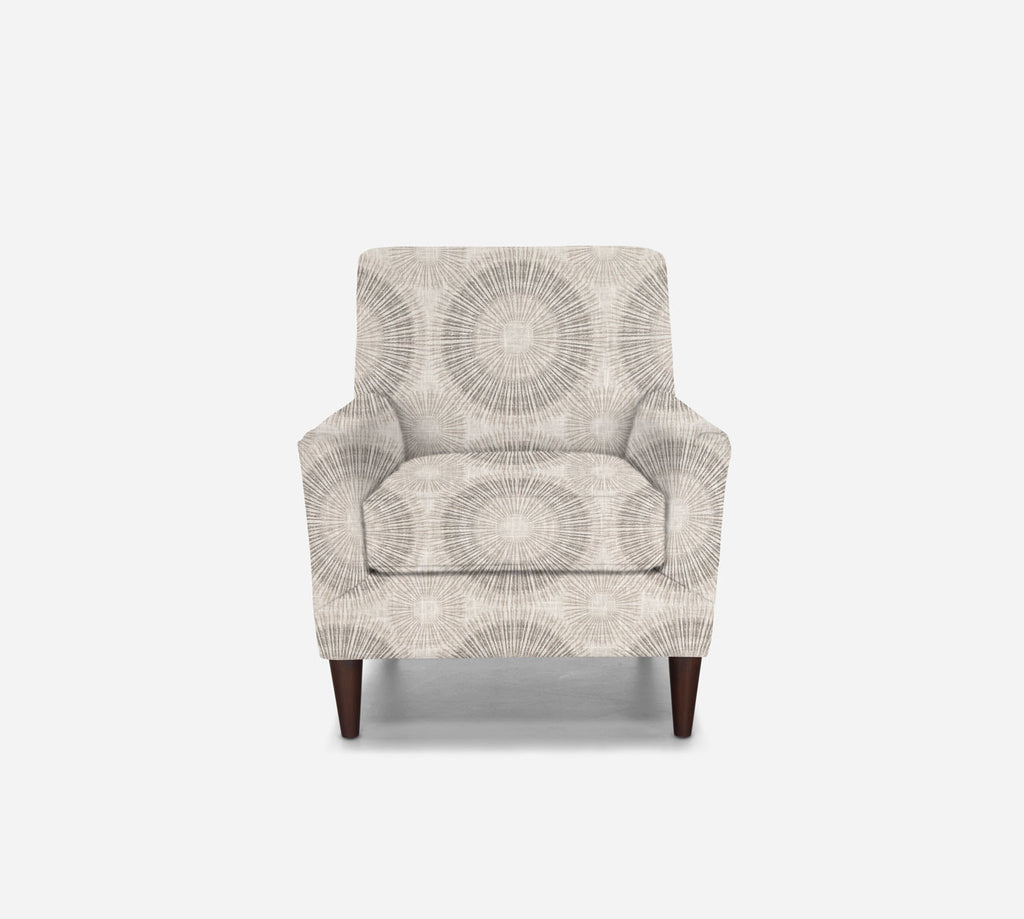 Xander Accent Chair - Fireworks - MARBLE
