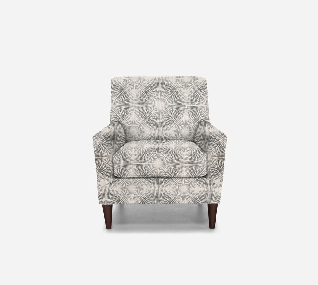 Xander Accent Chair - Fireworks - NAVY