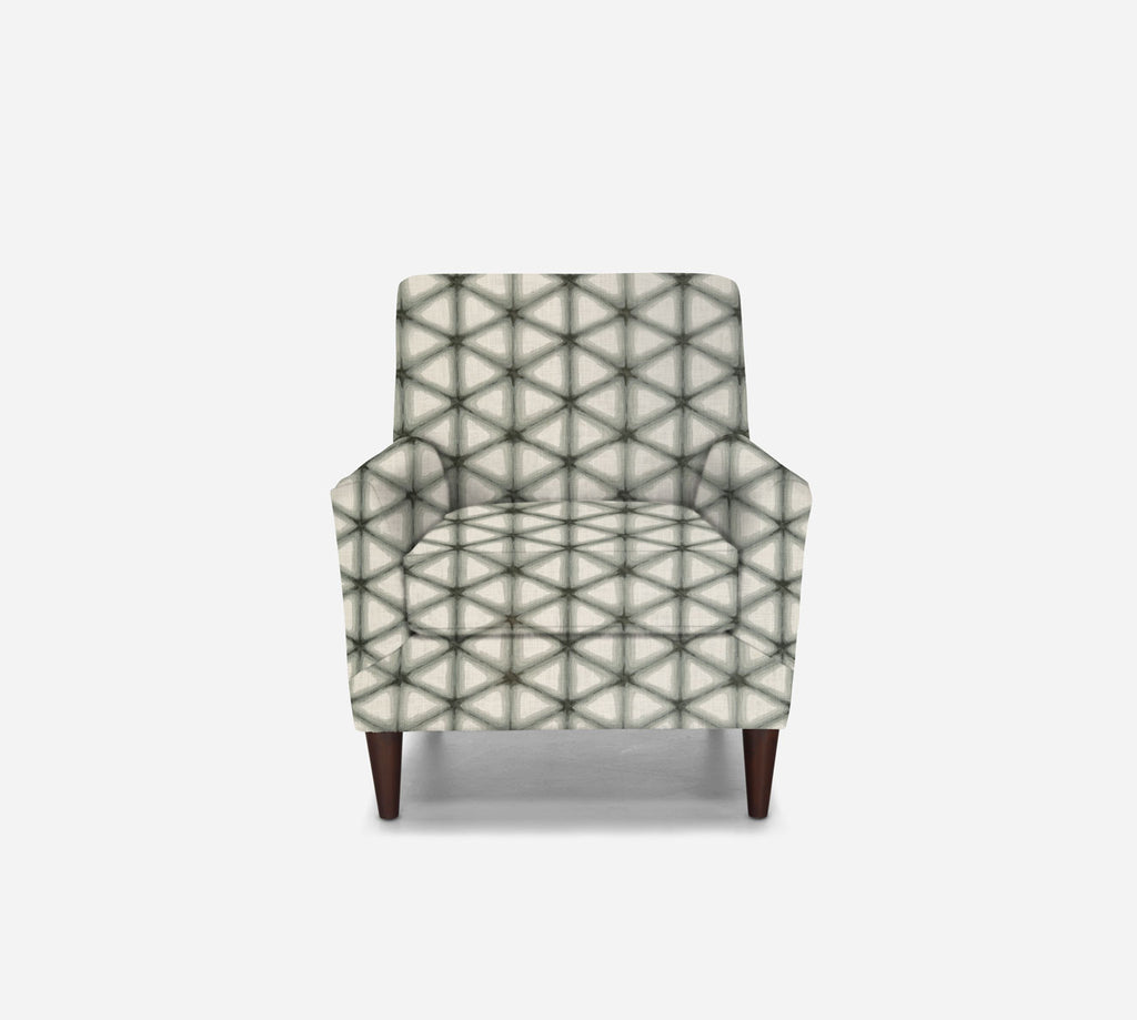 Xander Accent Chair - Shibori - LODEN FROST
