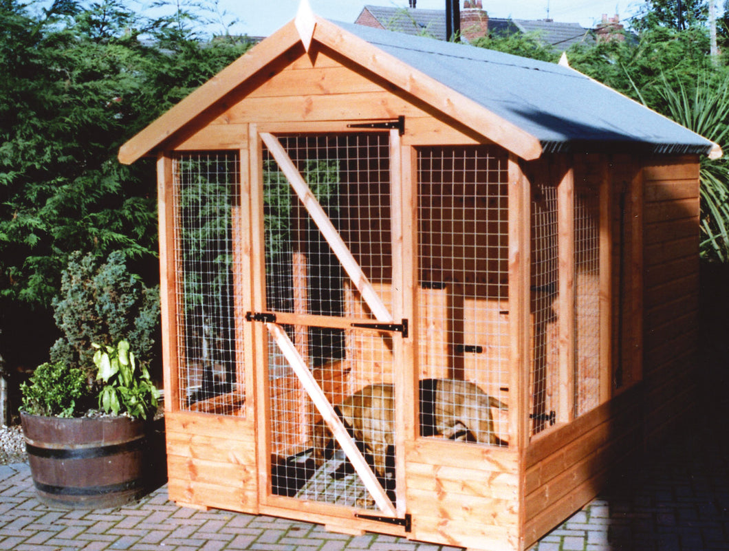 Apex Run & Kennel Shed
