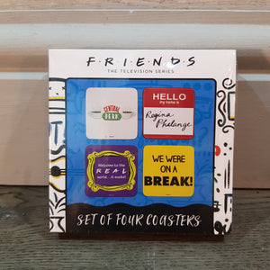 Friends Set of 4 Coasters