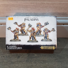 Load image into Gallery viewer, Storm Eternals Paladins. 5  Citadel Miniatures