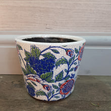 Load image into Gallery viewer, Lrg Vintage Floral Pot