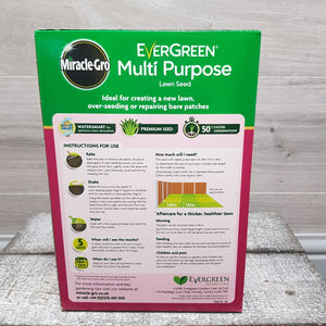 Evergreen Multi Purpose Lawn Seed 840g