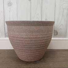Load image into Gallery viewer, Stone Effect Feather Pot Pink