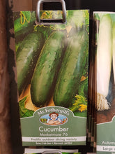 Load image into Gallery viewer, Cucumber (Marketmore 76)