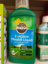 Load image into Gallery viewer, Evergreen Mosskill Liquid Lawn Food & Moss Control 1 Litre