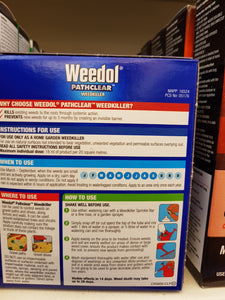 Weedol Pathclear Weedkiller 8 x 18ml tubes