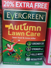 Load image into Gallery viewer, Evergreen Autumn Lawn Care Lawn Feed & Moss Killer 4.2kg