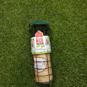 Fat Ball Cage + Suet Log