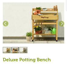 Load image into Gallery viewer, Vegtrug Deluxe Potting Bench Natural