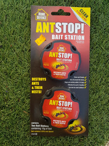 Ant Stop Bait Station 2 Pack - Home Defence