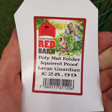 Load image into Gallery viewer, Squirrel Proof Large Guardian Poly Nut Feeder