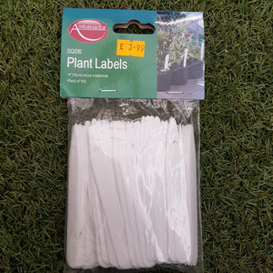 "Plant Labels 4"" Pk of 100"